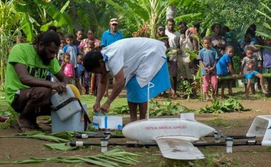 Vanuatu sử dụng máy bay không người lái để đưa vaccine đến đảo xa