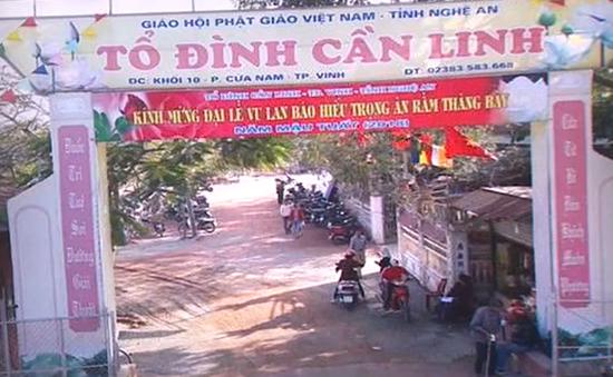 Truy tìm kẻ đột nhập, đập phá 12 hòm công đức tại Nghệ An