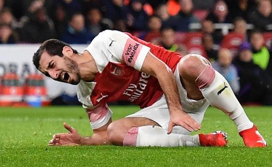 Arsenal mất ngòi nổ số 7 trong 6 tuần