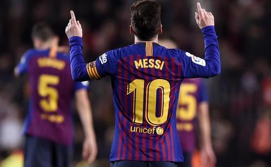ĐHTB La Liga lượt đi mùa 2018/19: Ngọn cờ đầu Messi