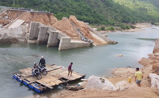 Đầu tư đường tạm 1,5 tỷ đồng trước khi xây mới cầu Bình Lập