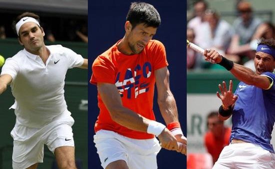 """Quần vợt năm 2019: Federer, Nadal và Djokovic """"thoái vị"""", sức trẻ """"lên ngôi""""?"""