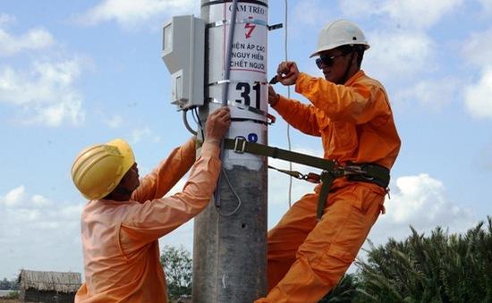 Trà Vinh: Hàng trăm hộ dân ở Cồn Phụng có điện lưới quốc gia