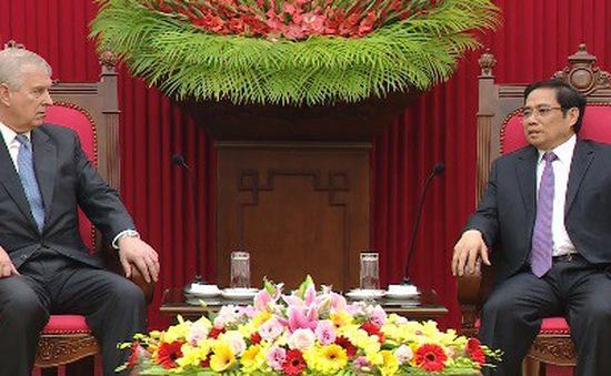 Tăng cường quan hệ Việt Nam – Vương quốc Anh