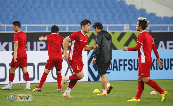 AFF Cup 2018: ĐT Việt Nam có buổi tập đầu tiên trên đất Malaysia
