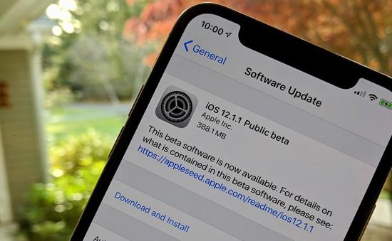 Cập nhật iOS 12.1.1: Chuyển camera FaceTime chỉ với một cái chạm tay