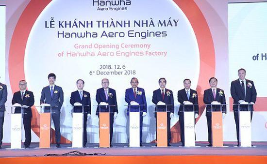 Khánh thành nhà máy sản xuất linh kiện động cơ máy bay