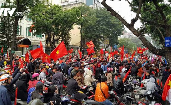 Hơn 1.000 cảnh sát giao thông đảm bảo an ninh trận Việt Nam - Philippines