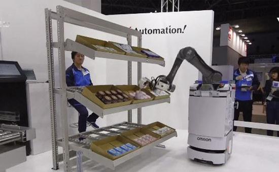 Robot lấp khoảng trống thiếu hụt nhân lực