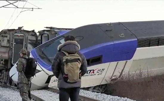 Tai nạn tàu cao tốc ở Hàn Quốc, ít nhất 14 người bị thương