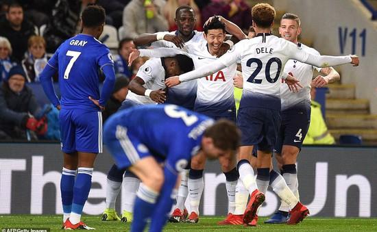 VIDEO, Leicester City 0-2 Tottenham: Phong độ chói sáng của Son Heung Min