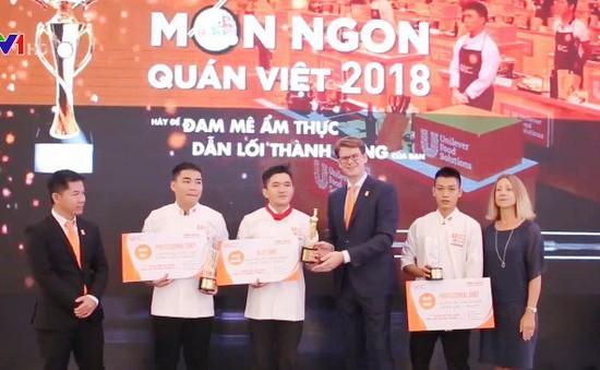 """Đông đảo đầu bếp chuyên nghiệp tham gia cuộc thi """"Món ngon quán Việt"""""""