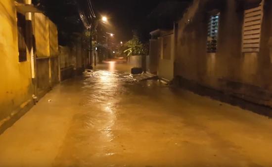 Mưa lớn tại Quảng Trị, 2 người mất tích