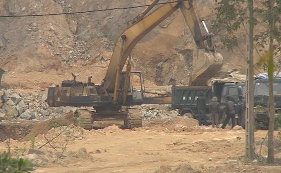 Hà Tĩnh: Kéo dài tình trạng khai thác khoáng sản không đúng quy định