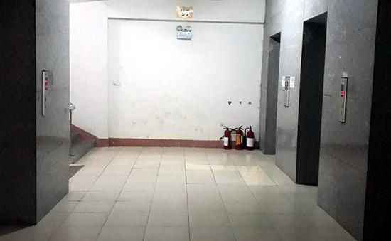 Sự cố rơi thang máy ở chung cư IHome, quận Gò Vấp, TP.HCM