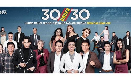 Café sáng với VTV3: 30 gương mặt trẻ nổi bật nhất Việt Nam của Forbes