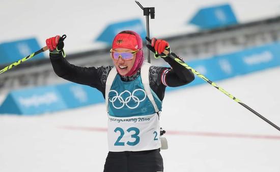 Bảng tổng sắp huy chương Olympic mùa đông PyeongChang 2018: Đoàn Thể thao Đức vươn lên dẫn đầu