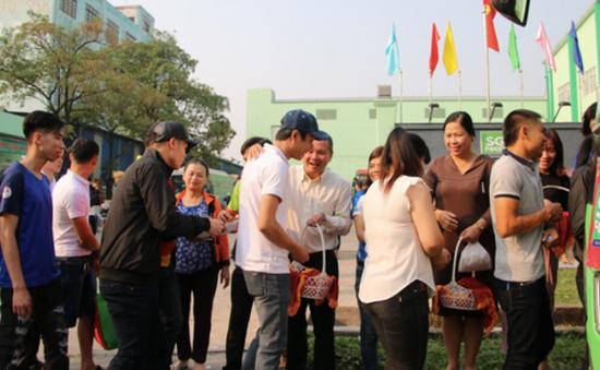 Tổ chức lễ tiễn 37.000 công nhân về quê đón Tết