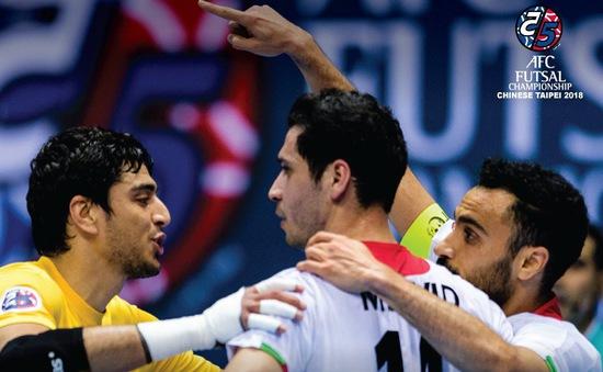 Giải vô địch futsal châu Á 2018: ĐT Iran lần thứ 12 lên ngôi