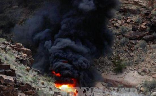 Rơi máy bay trực thăng tại Mỹ, 7 người chết và bị thương