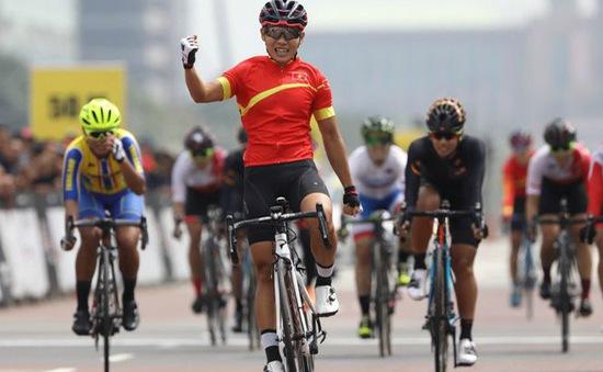 Cua rơ Nguyễn Thị Thật giành chức vô địch châu Á