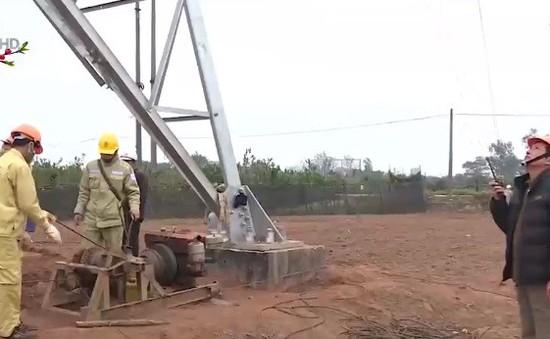 Tết của những công nhân truyền tải điện