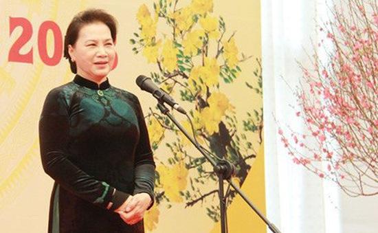 Chủ tịch Quốc hội chúc Tết cán bộ, công chức, viên chức Văn phòng Quốc hội