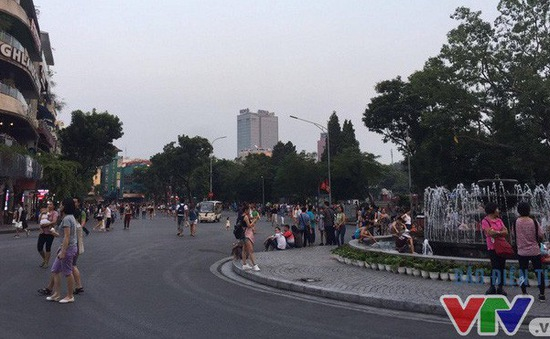 Không tổ chức phố đi bộ khu vực hồ Hoàn Kiếm và phố cổ dịp Tết