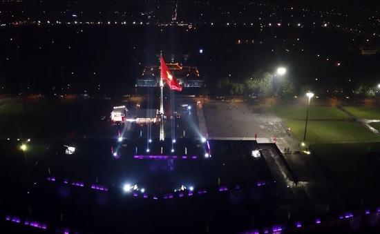 Thắp sáng Kỳ đài Huế - Góc nhìn ánh sáng nghệ thuật về đêm