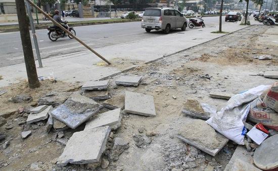 Kết luận thanh tra về các dự án lát đá vỉa hè tại Hà Nội