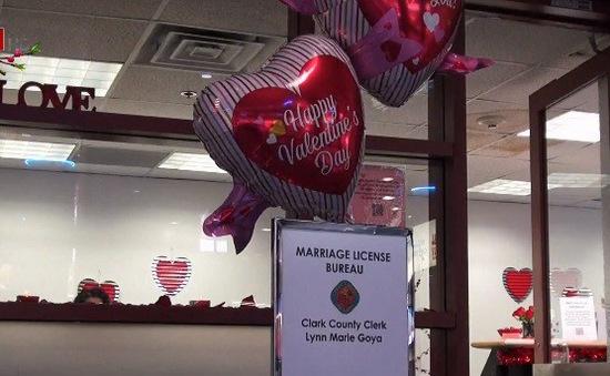 Văn phòng đăng ký kết hôn ở sân bay thành phố Las Vegas, Mỹ