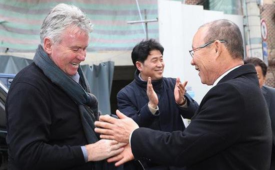 HLV Park Hang Seo hội ngộ HLV Guus Hiddink tại Hàn Quốc