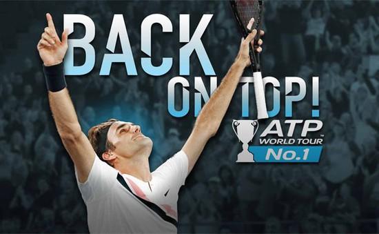 Roger Federer trở lại ngôi vị số 1 thế giới