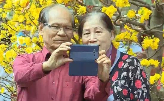 TP.HCM: Rộn ràng sắc hoa xuân tại công viên Tao Đàn