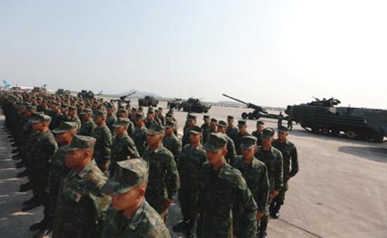 Mỹ, Hàn Quốc, Thái Lan tập trận đổ bộ
