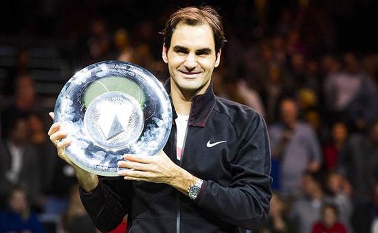 Thắng thuyết phục Dimitrov, Roger Federer vô địch Rotterdam Open 2018