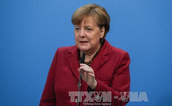 Đức: Tỷ lệ ủng hộ Thủ tướng Merkel giảm mạnh