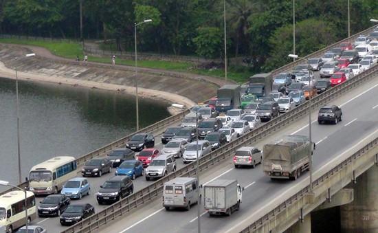 Hà Nội đề xuất thu hẹp dải phân cách đường Vành đai 3 nhằm chống ùn tắc