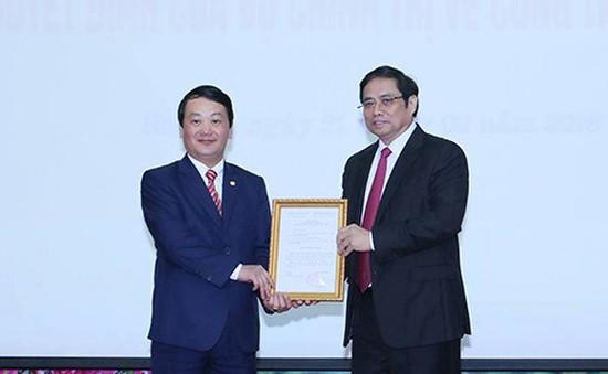 Trao quyết định Phó Bí thư Đảng đoàn Mặt trận Tổ quốc Việt Nam nhiệm kỳ 2014 - 2019