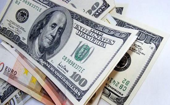 Tỷ giá trung tâm giảm 15 đồng