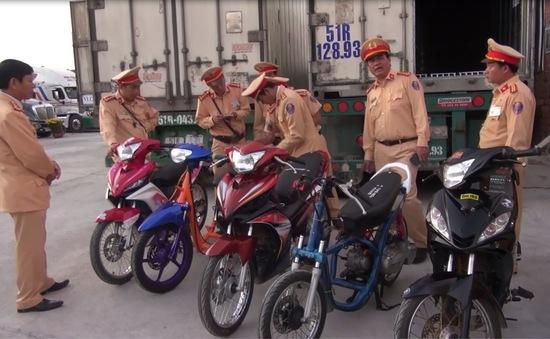 Công an Quảng Ngãi ngăn chặn vụ đua xe quy mô lớn