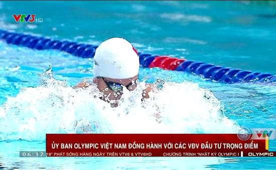 Ủy ban Olympic Việt Nam đồng hành cùng các VĐV trọng điểm