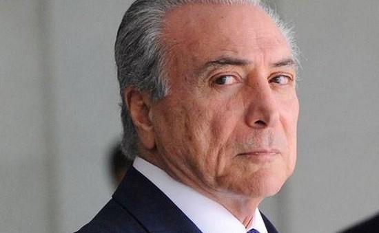 Tổng thống Brazil Michel Temer tuyên bố sẽ không tiếp tục tranh cử