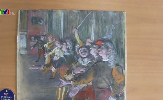 Tìm thấy bức tranh Les Choristes của danh họa Edgar Degas