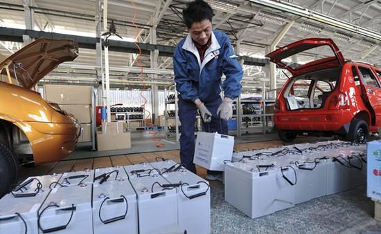 Trung Quốc quy định tái chế pin xe điện