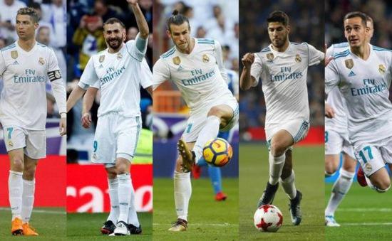 """Zidane """"hóa phép"""" ra ngũ hổ tướng ghi bàn cực khủng"""