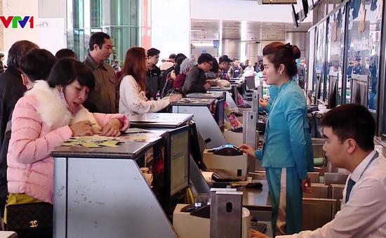 Vietnam Airlines phục vụ gần 880.000 lượt khách dịp Tết Nguyên đán