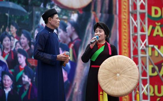 Hội Lim - Đậm đà không gian văn hóa quan họ vùng Kinh Bắc