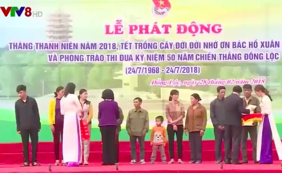 Lễ phát động Tết trồng cây tại Hà Tĩnh