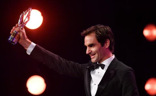 Vượt mặt Ronaldo, Federer giành giải Vận động viên của năm